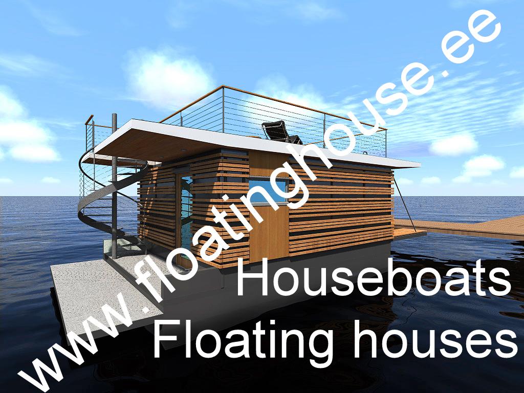 2 Floating house, kelluva talo, ujuvmaja, een drijvende woning, et flydende hus, ein schwimmendes Haus, Schwimmendes Bauwerk, ett flytande hus, houseboat, Ett flytande hus, Een drijvende w