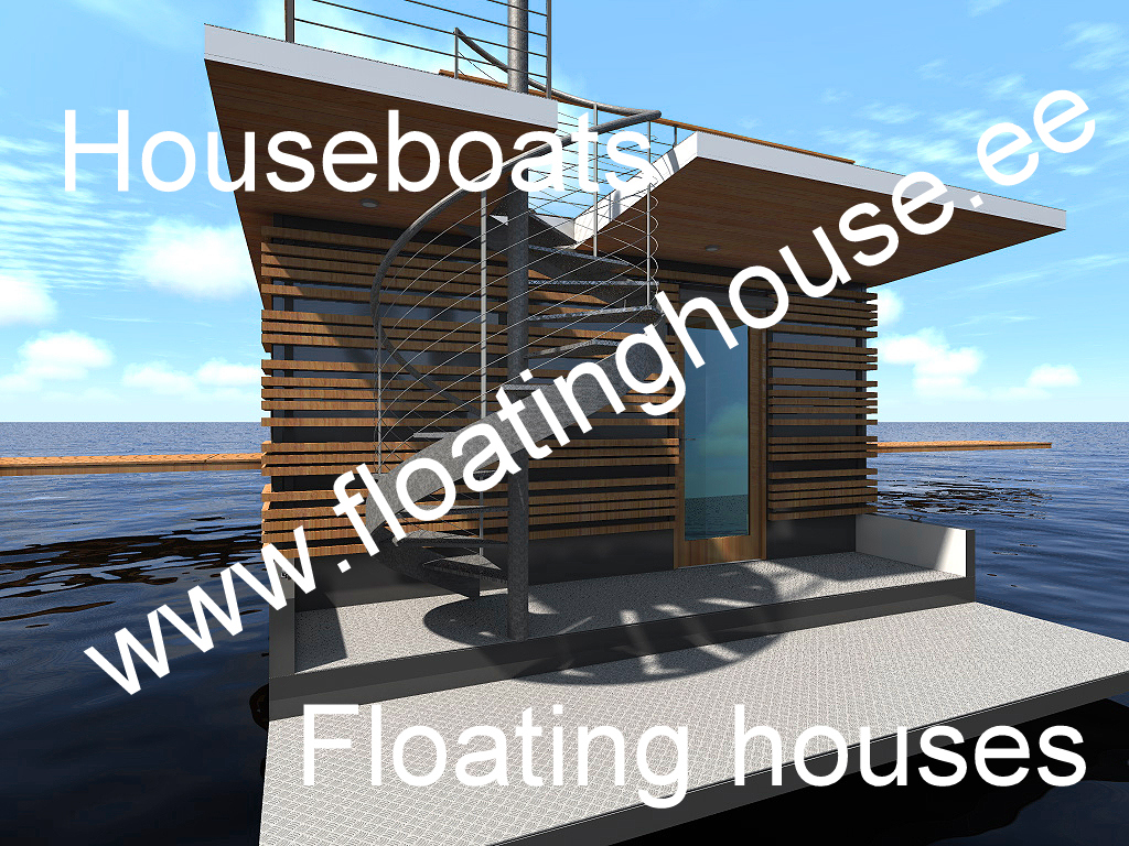 3 Floating house, kelluva talo, ujuvmaja, een drijvende woning, et flydende hus, ein schwimmendes Haus, Schwimmendes Bauwerk, ett flytande hus, houseboat, Ett flytande hus, Een drijvende w