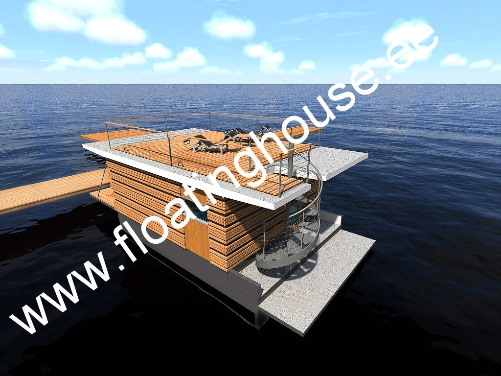 5 Floating house, kelluva talo, ujuvmaja, een drijvende woning, et flydende hus, ein schwimmendes Haus, Schwimmendes Bauwerk, ett flytande hus, houseboat, Ett flytande hus, Een drijvende w
